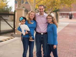 Olivia and family
