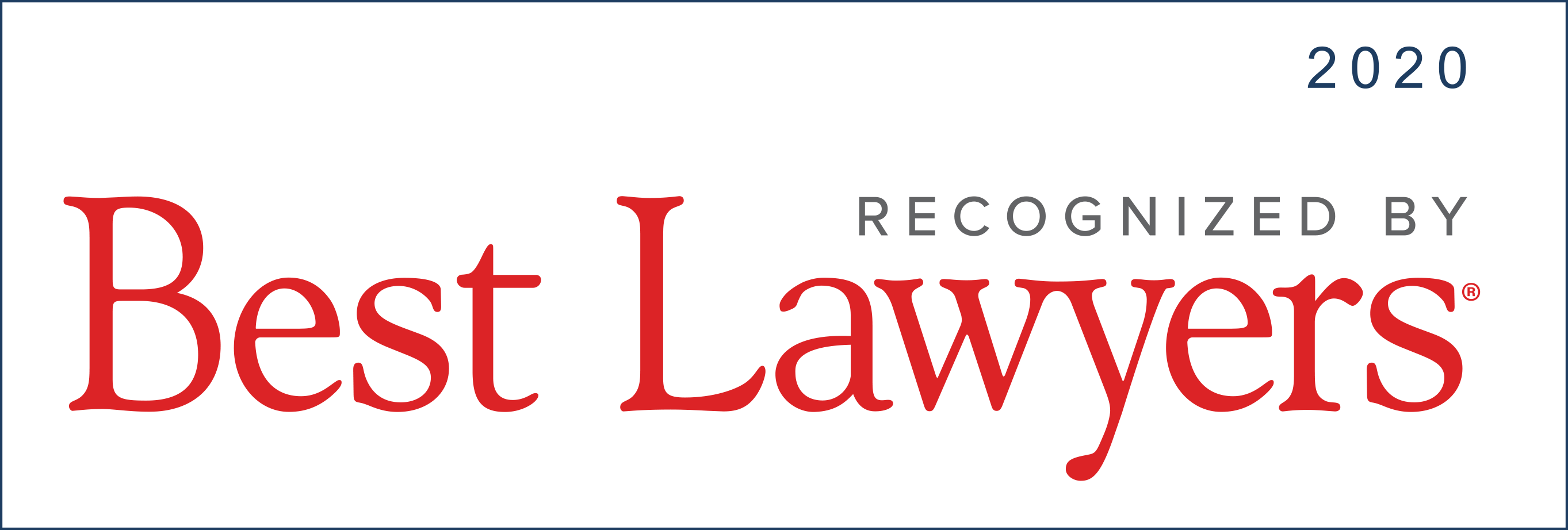 Martin Pringle Attorneys Recognized by Best Lawyers in America© 2020
