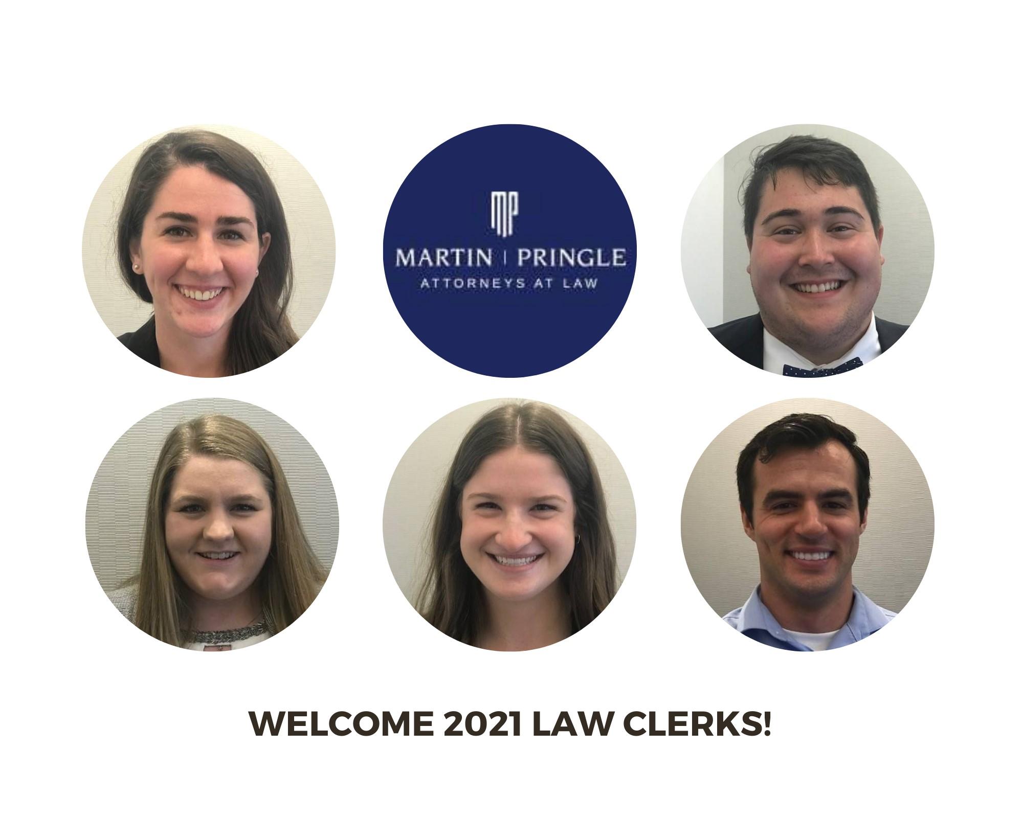 Martin Pringle Welcomes 2021 Summer Associates