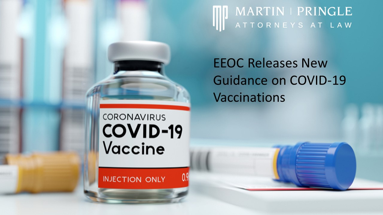 EEOC Releases Guidance on COVID-19 Vaccine