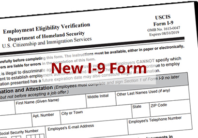 New I-9 Form is Here