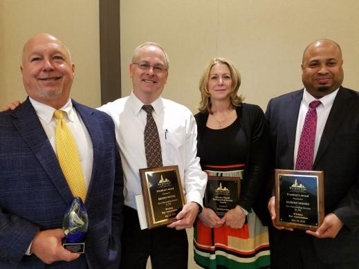 Wichita Bar Association Law Day Awards.
