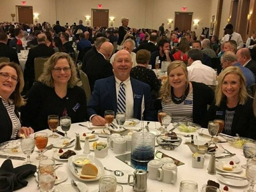 Celebrating Martin Pringle's Best Places to work honor!
