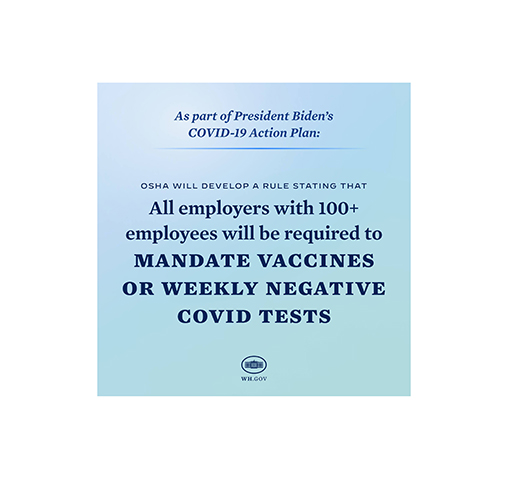 Live Webinar Event for Employers: President Biden's COVID-19 Action Plan